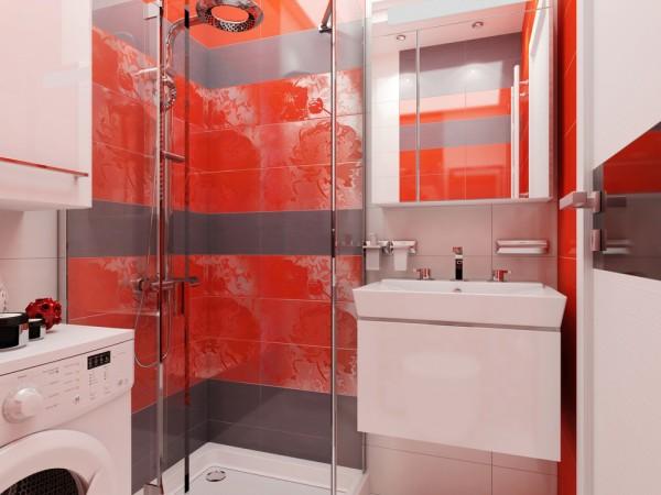 Duplex house bathroom design