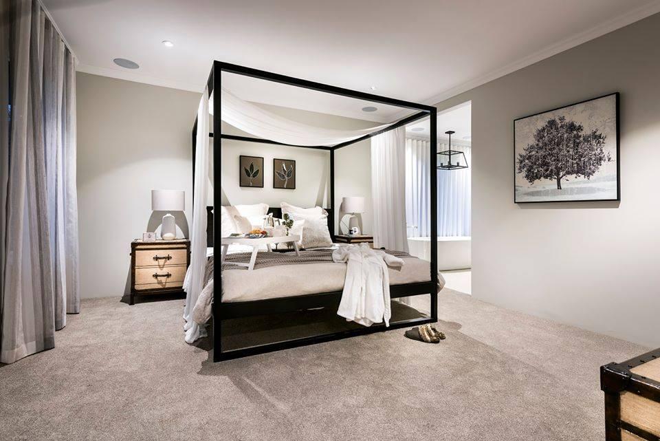 Oak bedroom design