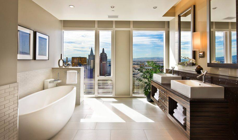 Amazing bathroom design with a fabulous look