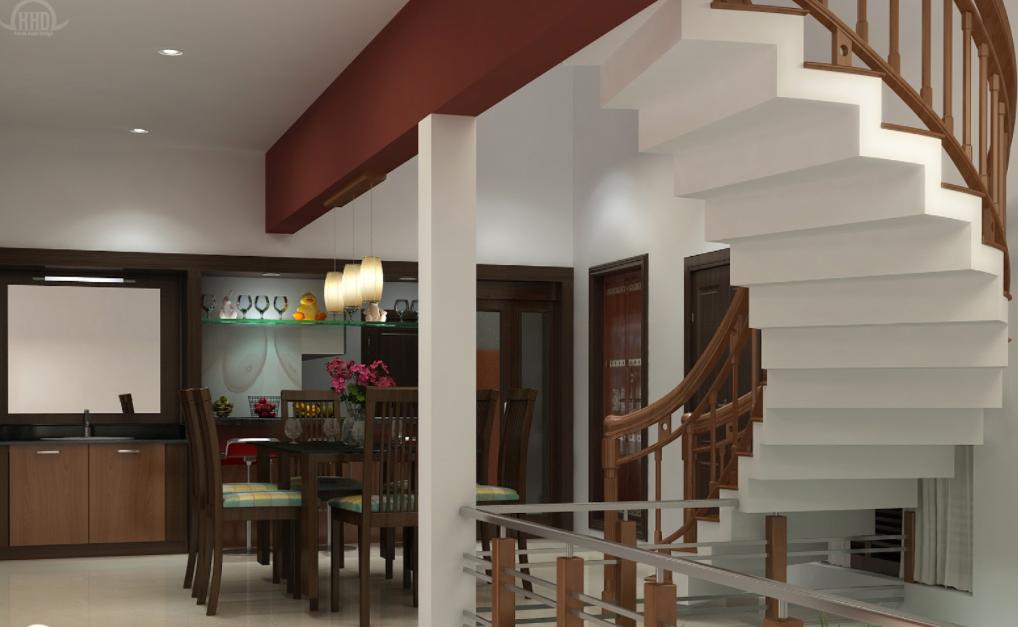 Modern home interior architecture