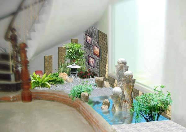 Indoor Garden Under The Stairs To Ruin Your Heart My Home My Zone