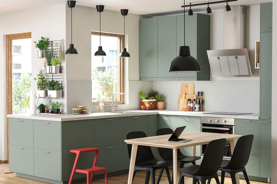kitchen design for city residents