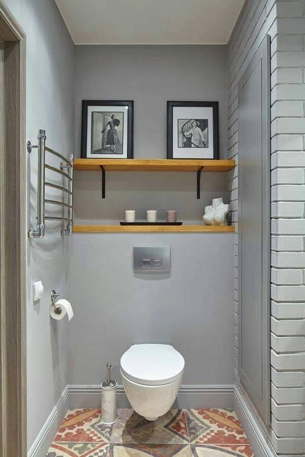 Simple bathroom design idea for small houses