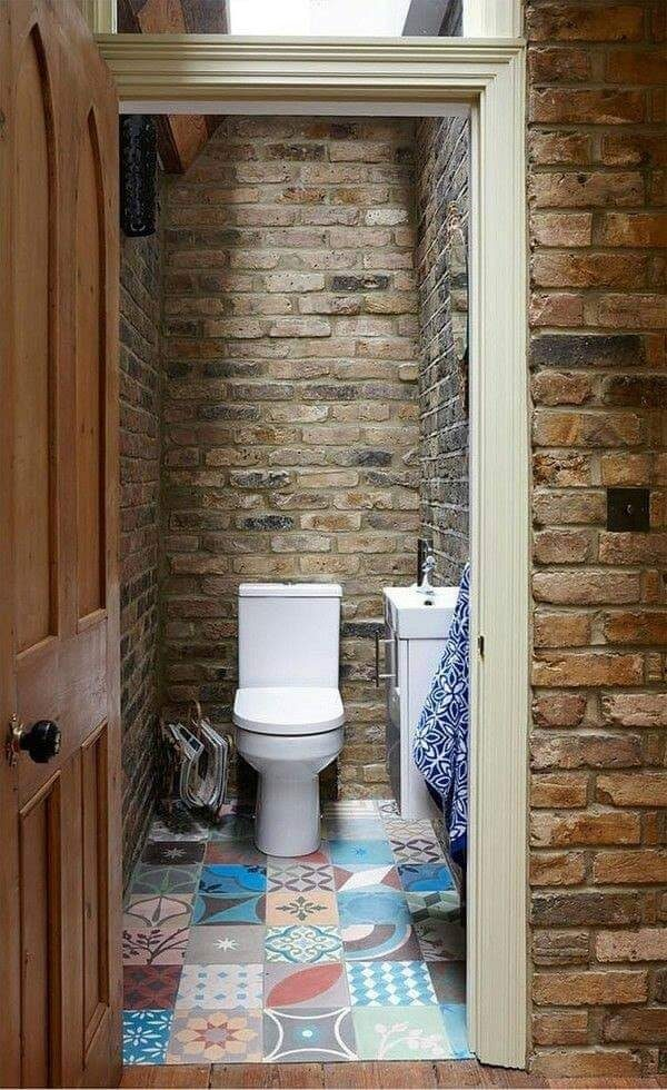small rustic toilet