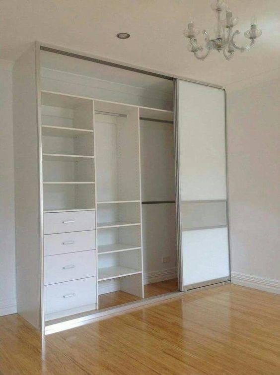Closet design ideas with doors