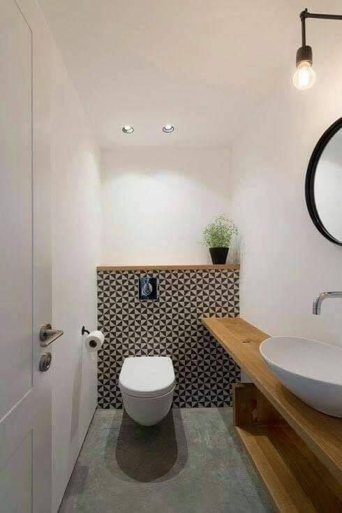 Inspiring small bathroom design