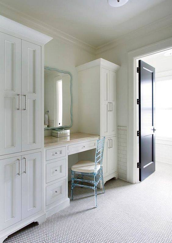 Bedroom cabinet table