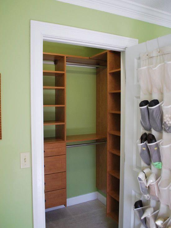 Small one door closet ideas