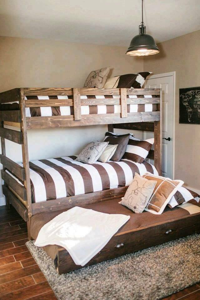 Kid bedroom rustic