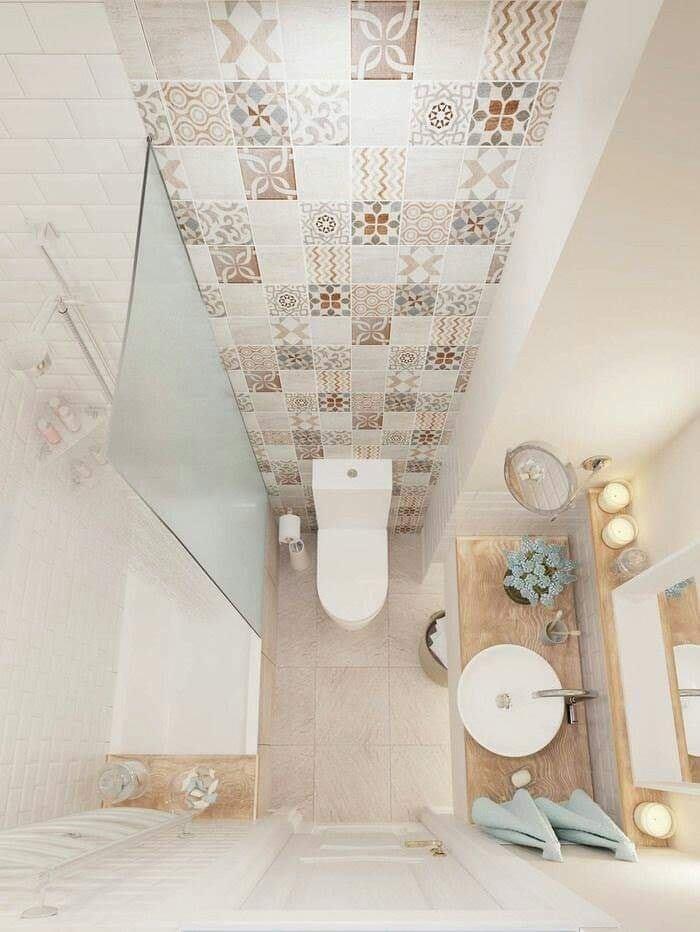 Bathroom design idea for women