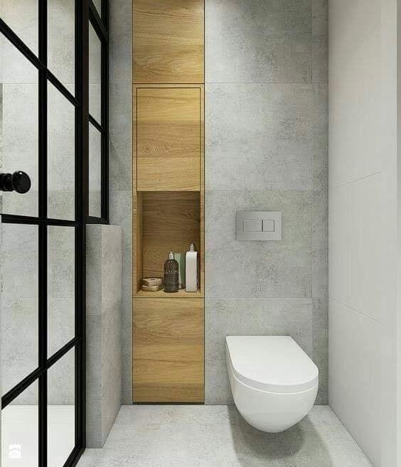 modern stylish small bathroom
