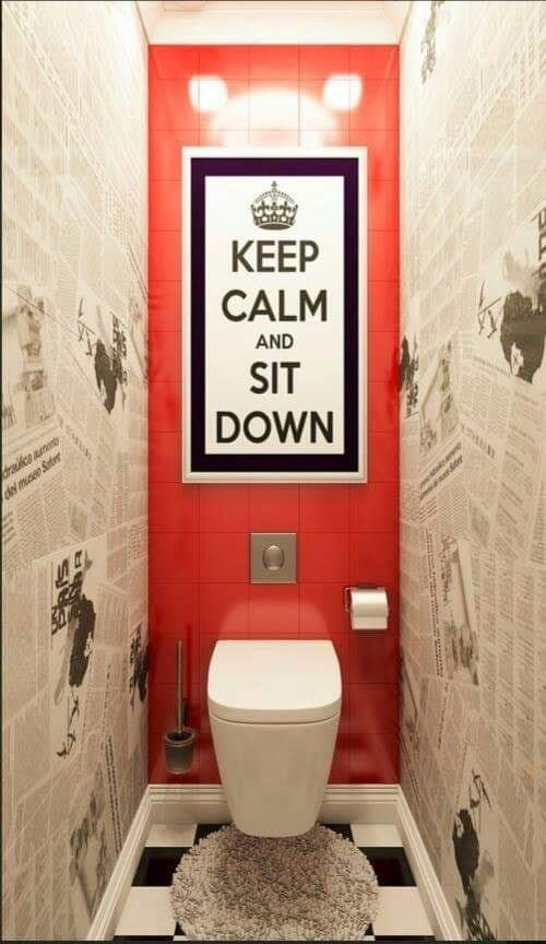 Out of the box toilet interior design