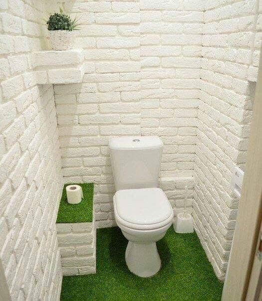 Small bathroom design concept