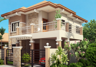 Two Storey Contemporary Residence