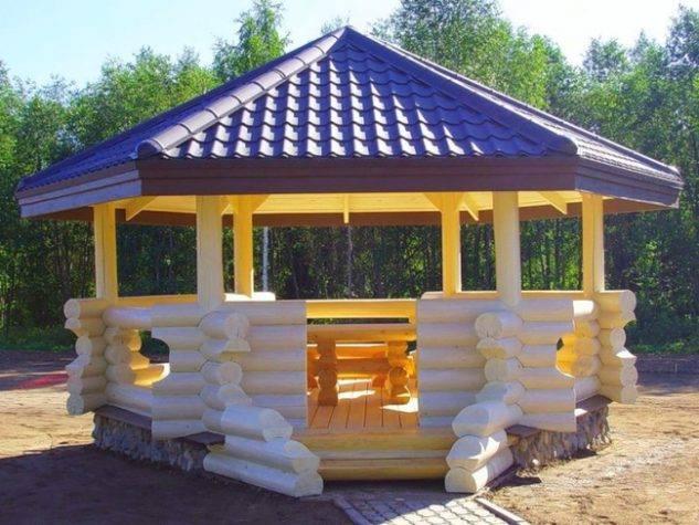 Exterior sitting area