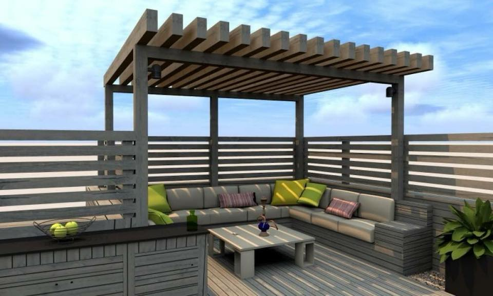 Modern sitting area design