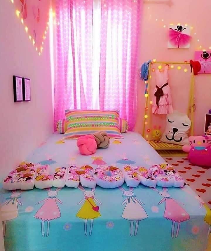 Bedroom design for little girl