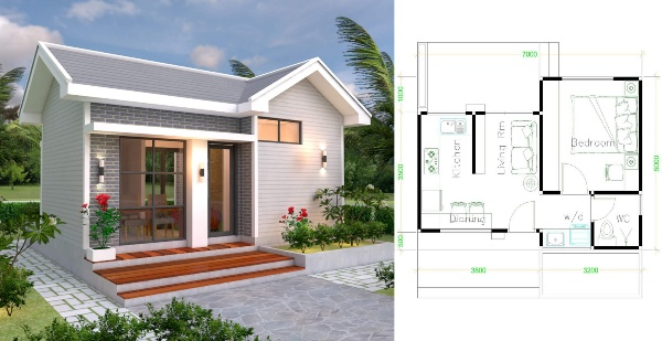 Small Residential House Design