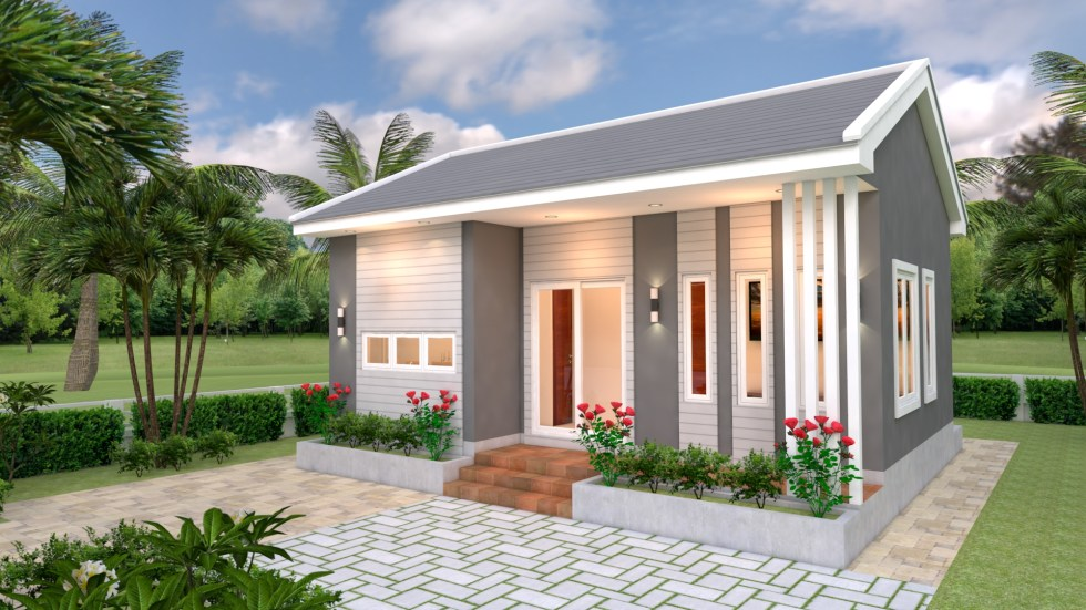 Alluring Small House Design - Source: SamPhoas Plan