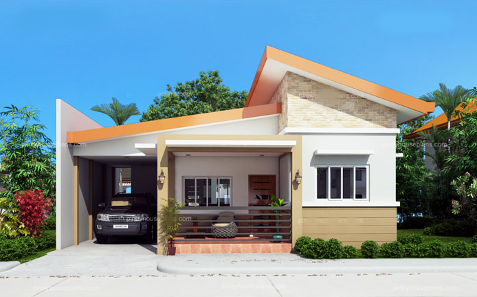 Minimalist One Storey House Design