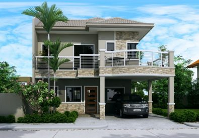 Double Story Modern House