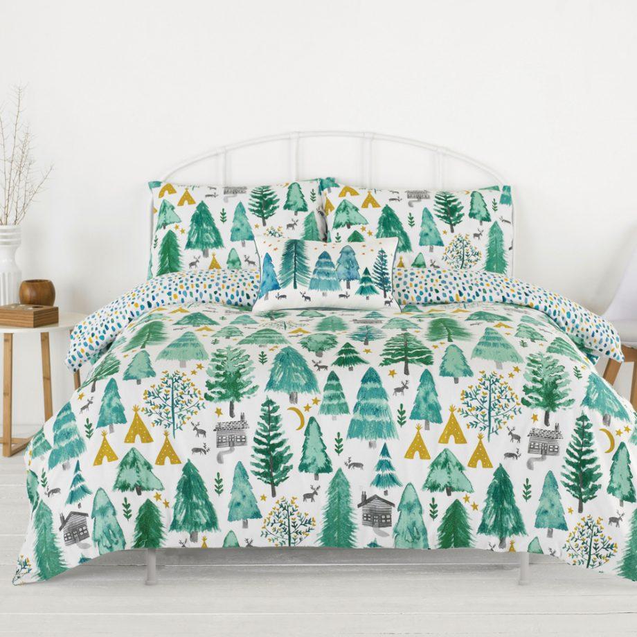 Best Christmas woodland print