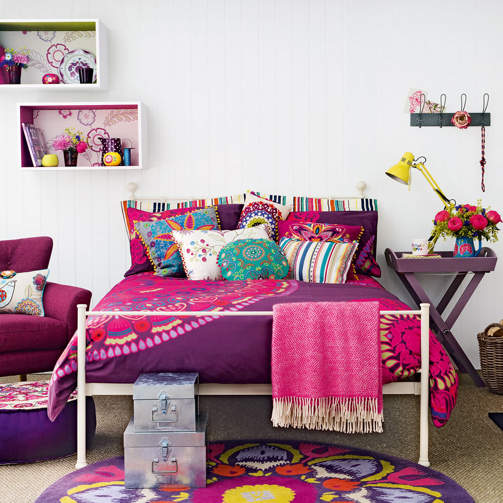 Purple bedroom ideas for teens