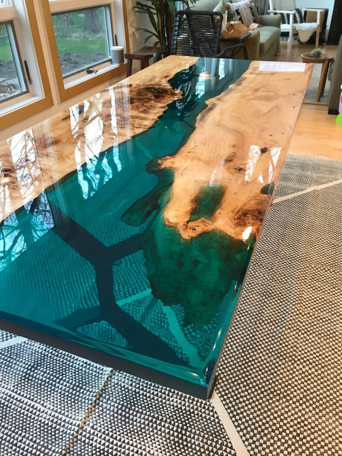 Amazing Epoxy Table Top Ideas Anyone'll Love   My Home My Zone