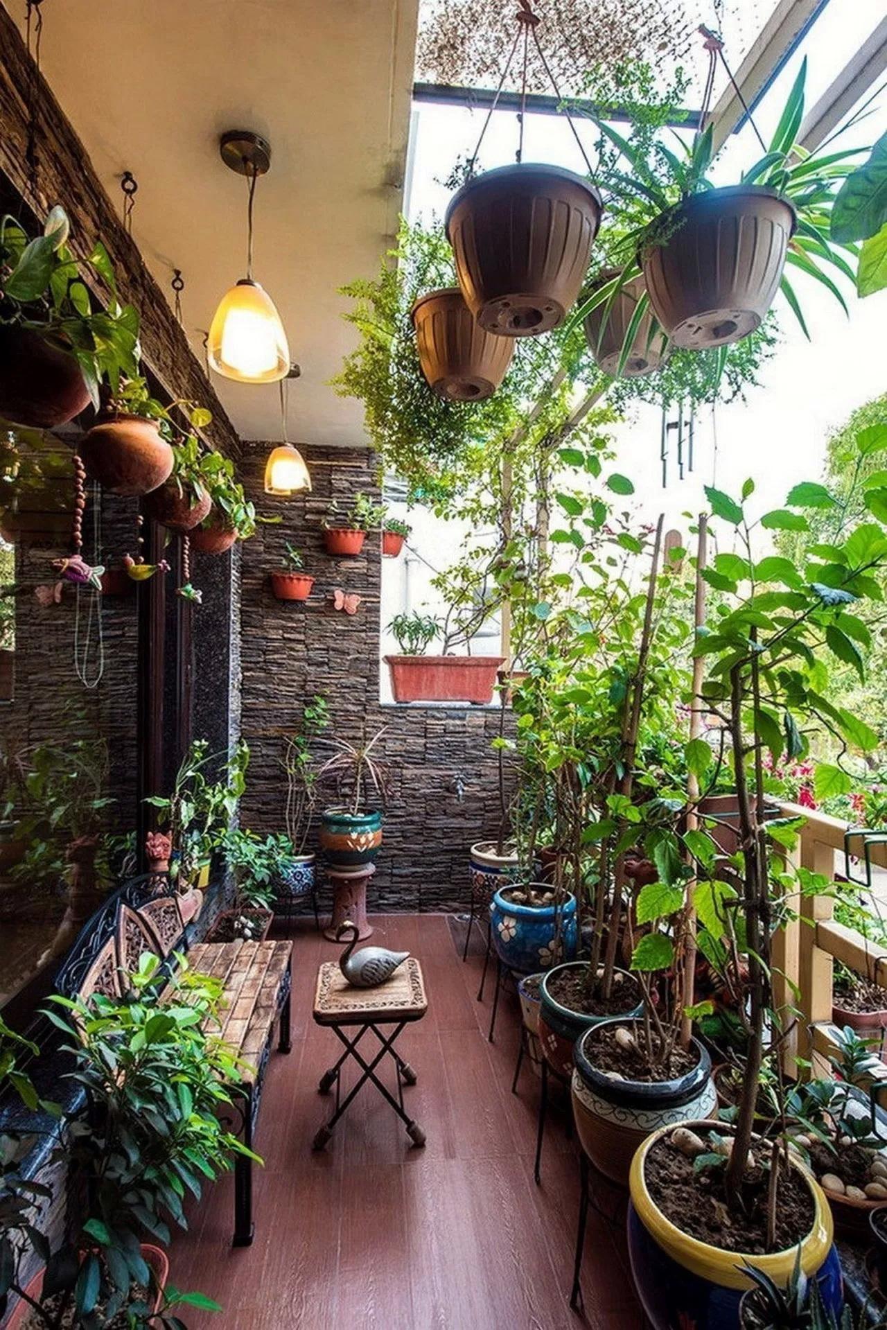"""35 Ideas """"Terraced Garden"""" To Transform A Narrow Space To ..."""