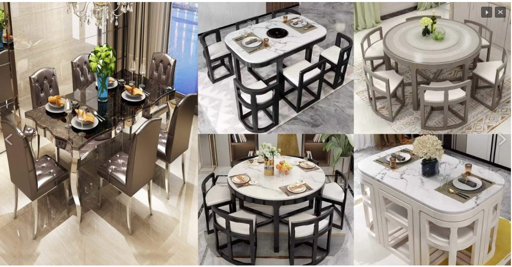 Unique Dining Table Designs
