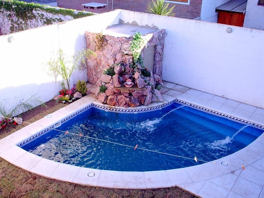 29 Beautiful Small Swimming Pool Designs For Limited Yard Space My Home My Zone