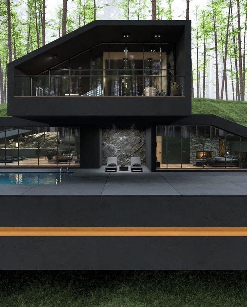 Front house design - Source: Reza Mohtashami