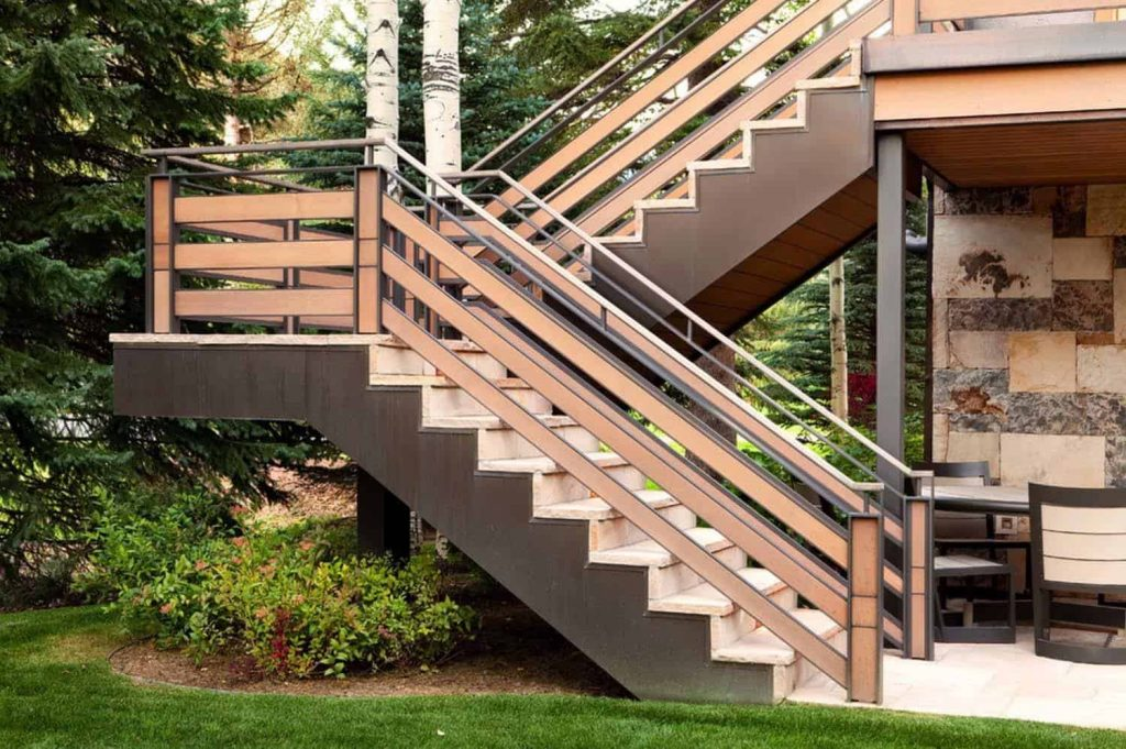 Well-designed and organized staircases   - Source: Suman Arthitects