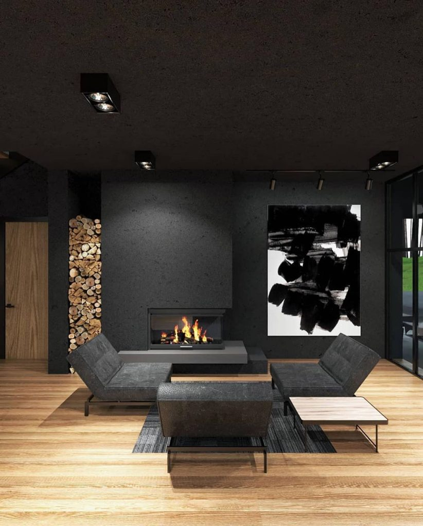 Living room from a different view