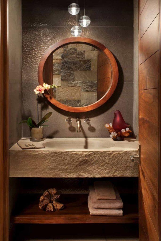 Modernized Basins and Washrooms    - Source: Suman Arthitects