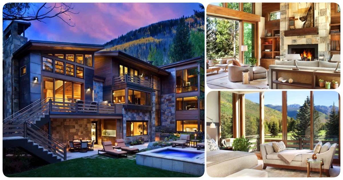 Modern-rustic Home