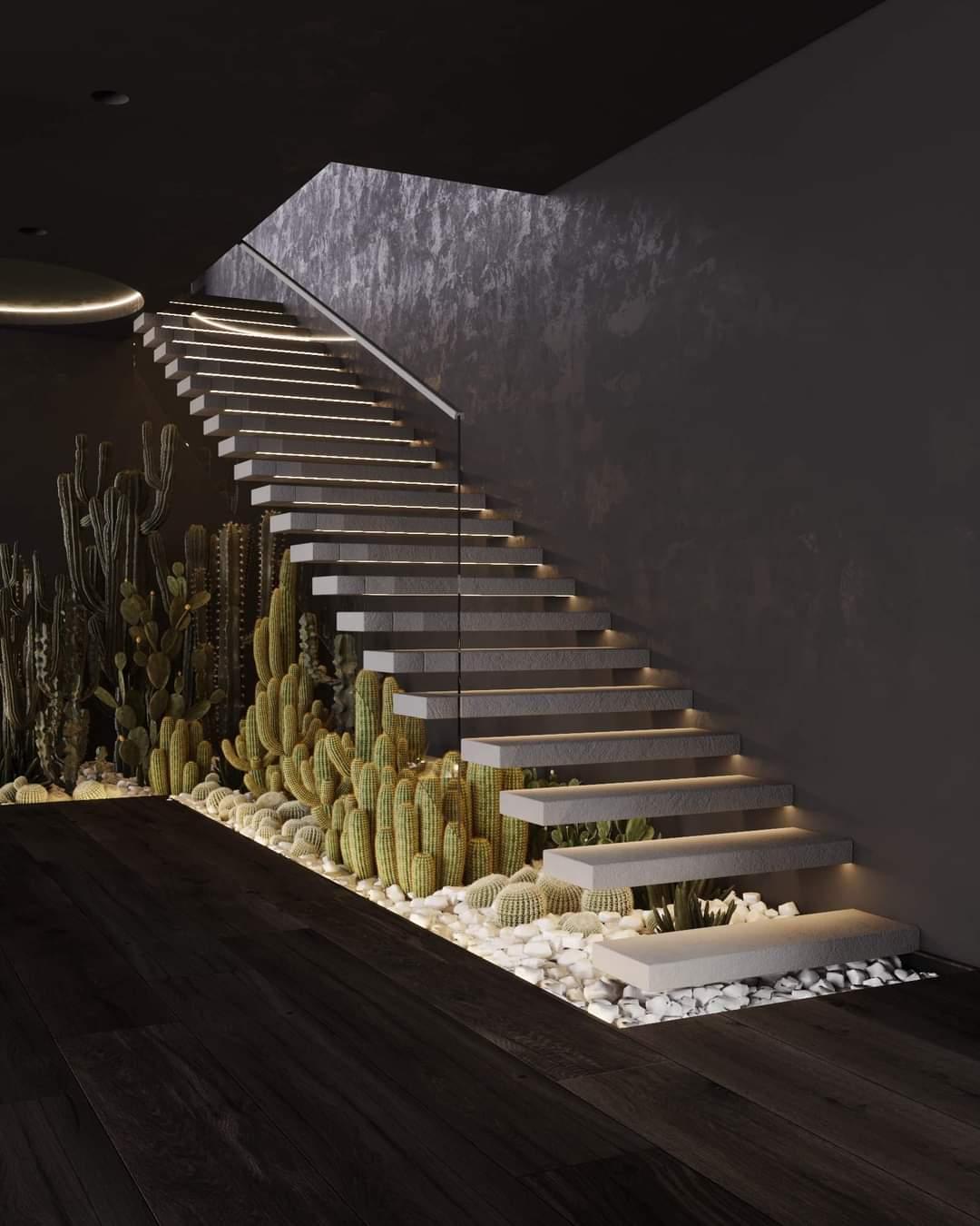 Enchanting Staircase - Source: Kireevaaanna