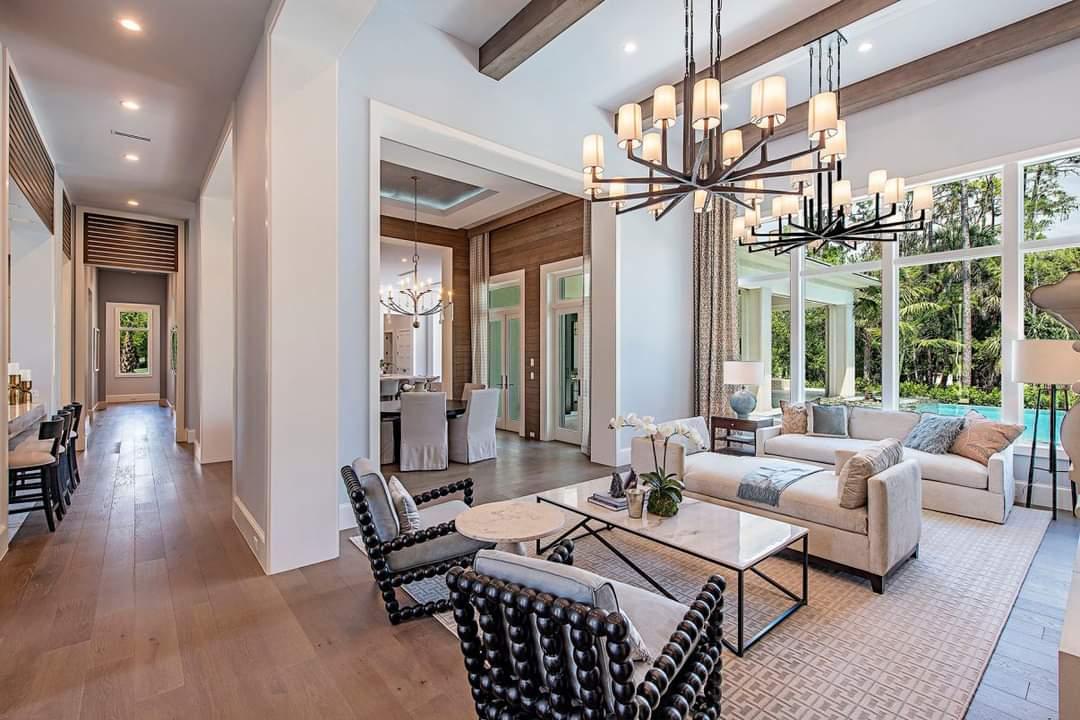 Alluring Interior Set Up - Source: Marc-Michaels Interior Design