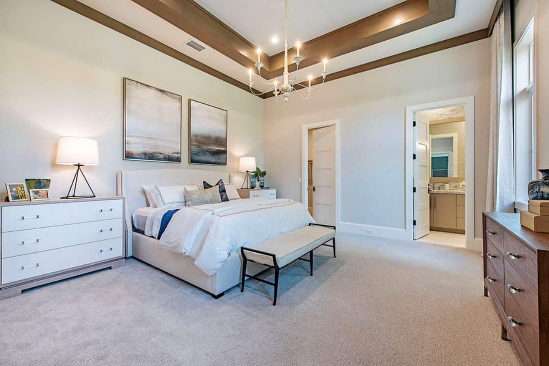 Enchanting bedroom interior design - Source: Marc-Michaels Interior Design