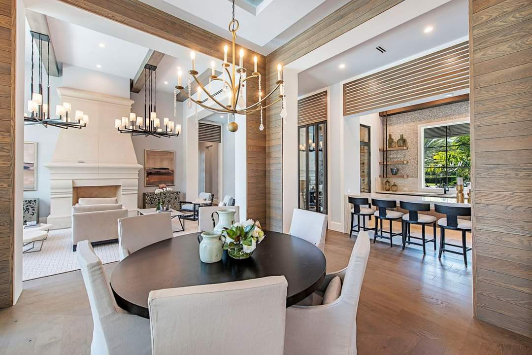 Awesome Interior Design For Dining Room - Source: Marc-Michaels Interior Design