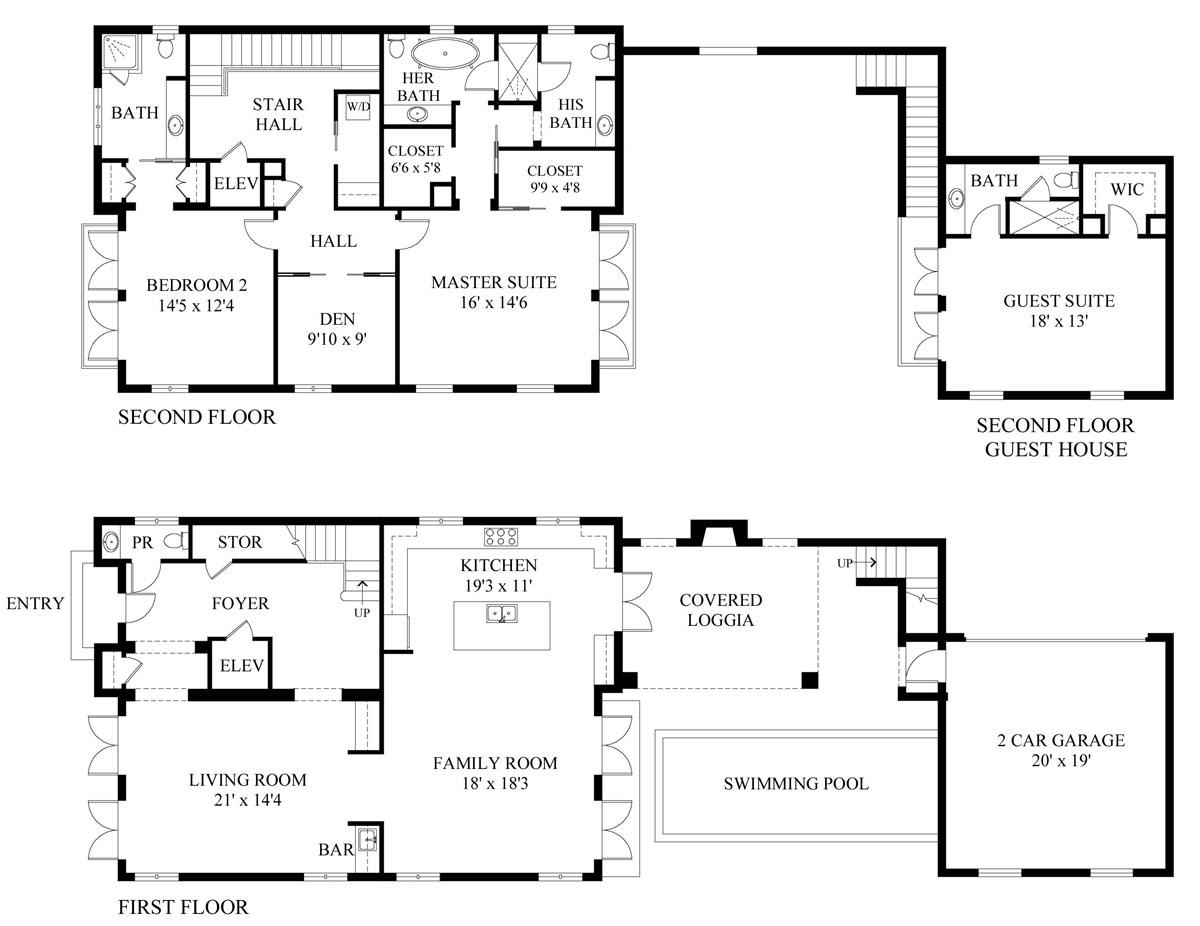 House plan - Source: SKA Architect