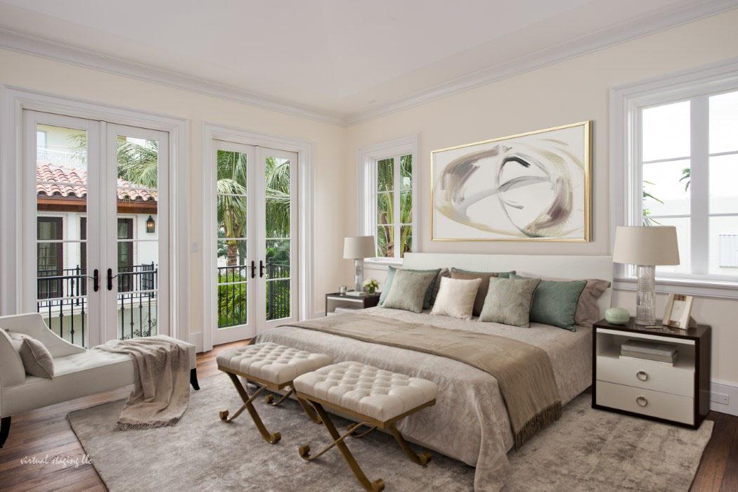 Luxurious Bedroom Set Up - Source: SKA Architect