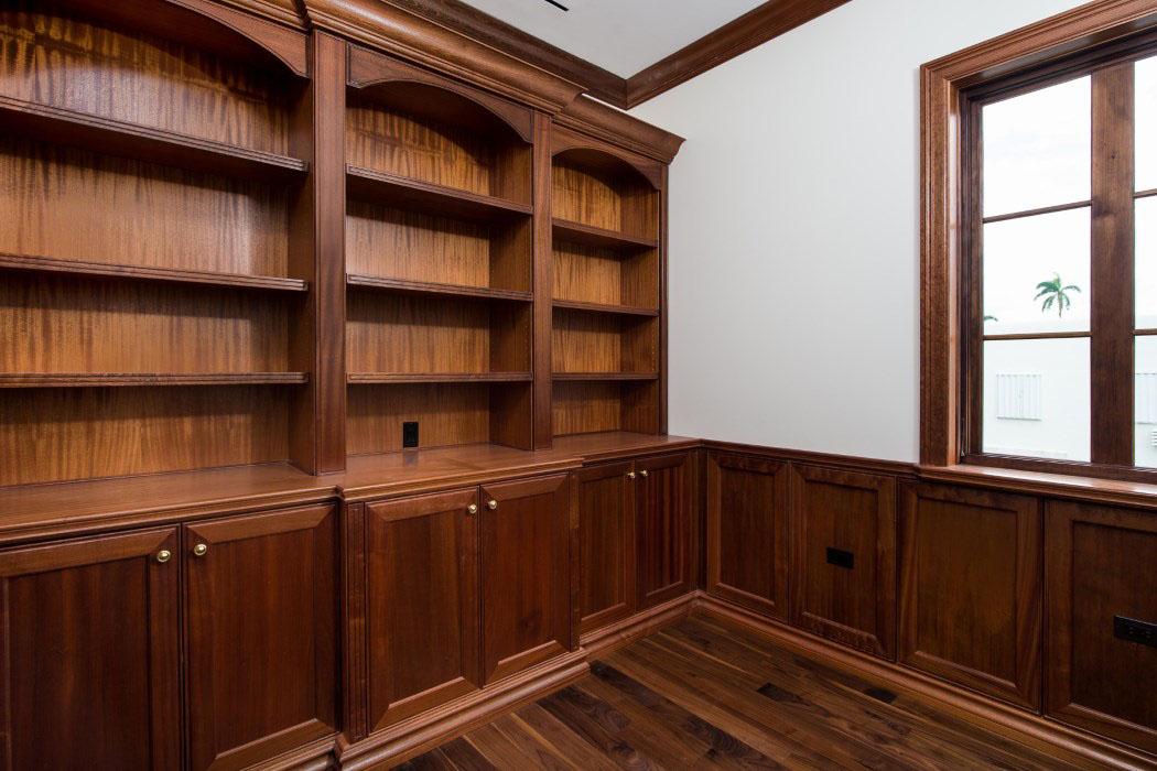 Wooden Shelves - Source: SKA Architect