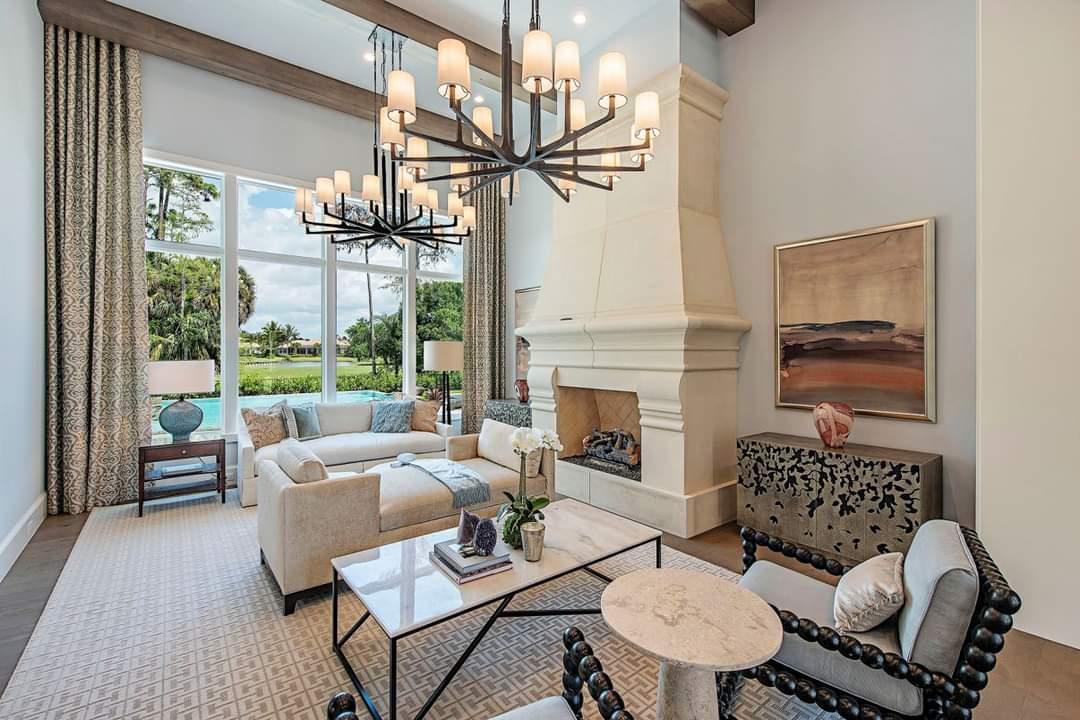 Fascinating Interior Set Up - Source: Marc-Michaels Interior Design