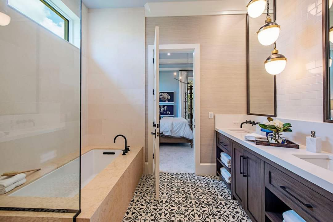 Enchanting Bathroom Interior Design - Source: Marc-Michaels Interior Design