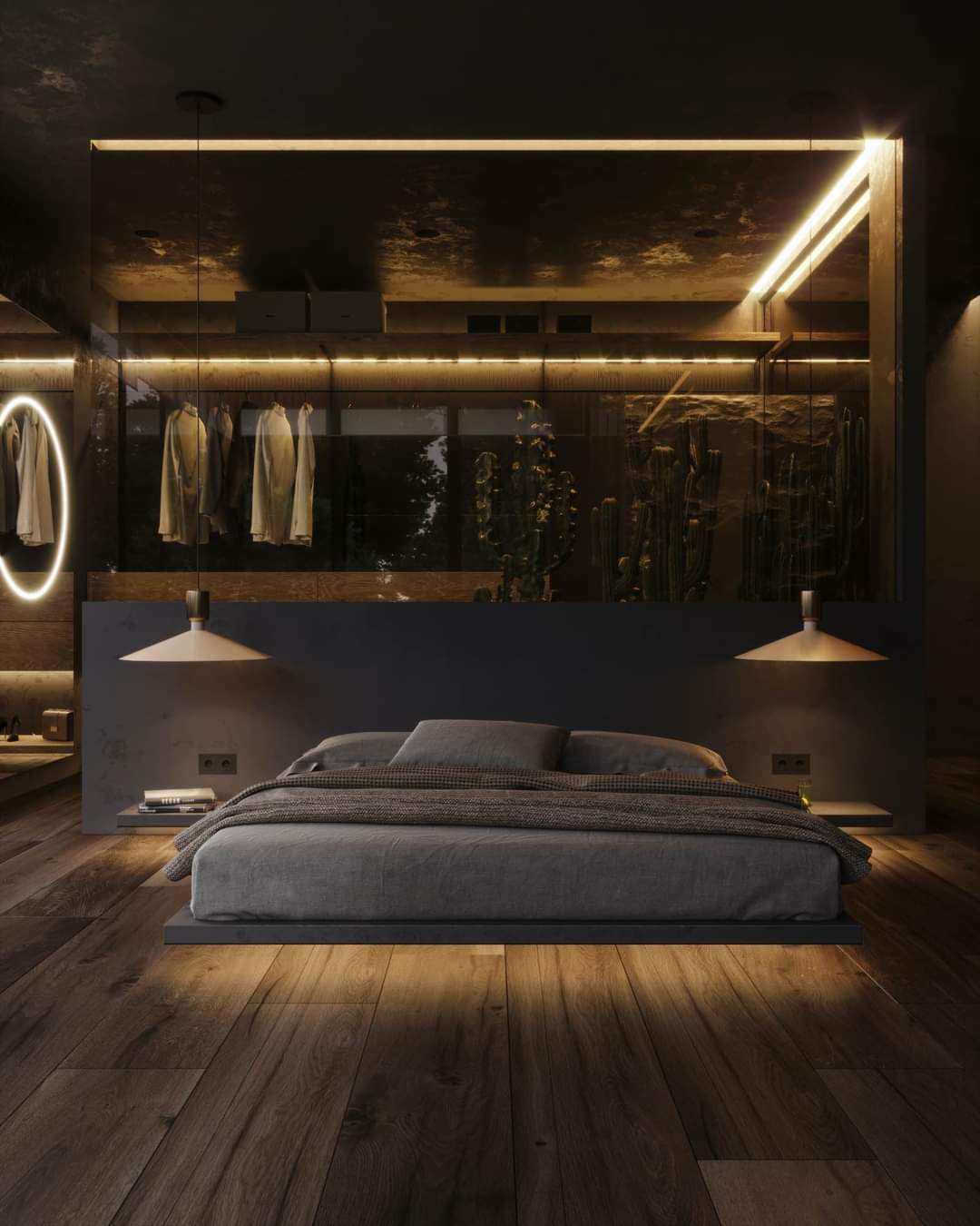 Striking Bedroom Set Up - Source: Kireevaaanna