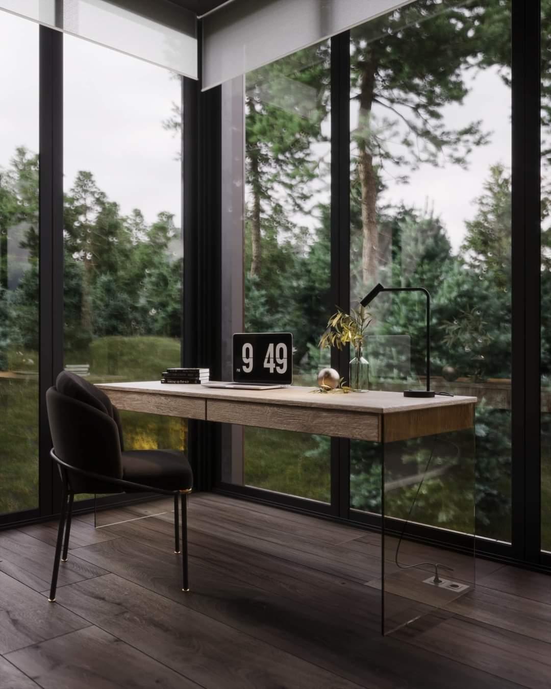 Beautiful Office Set Up - Source: Kireevaaanna