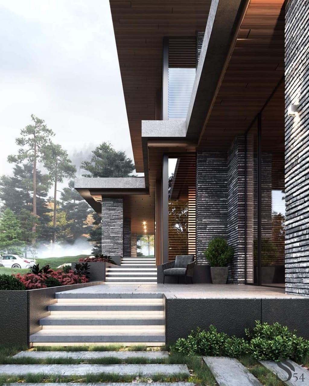 Unique Exterior Architecture