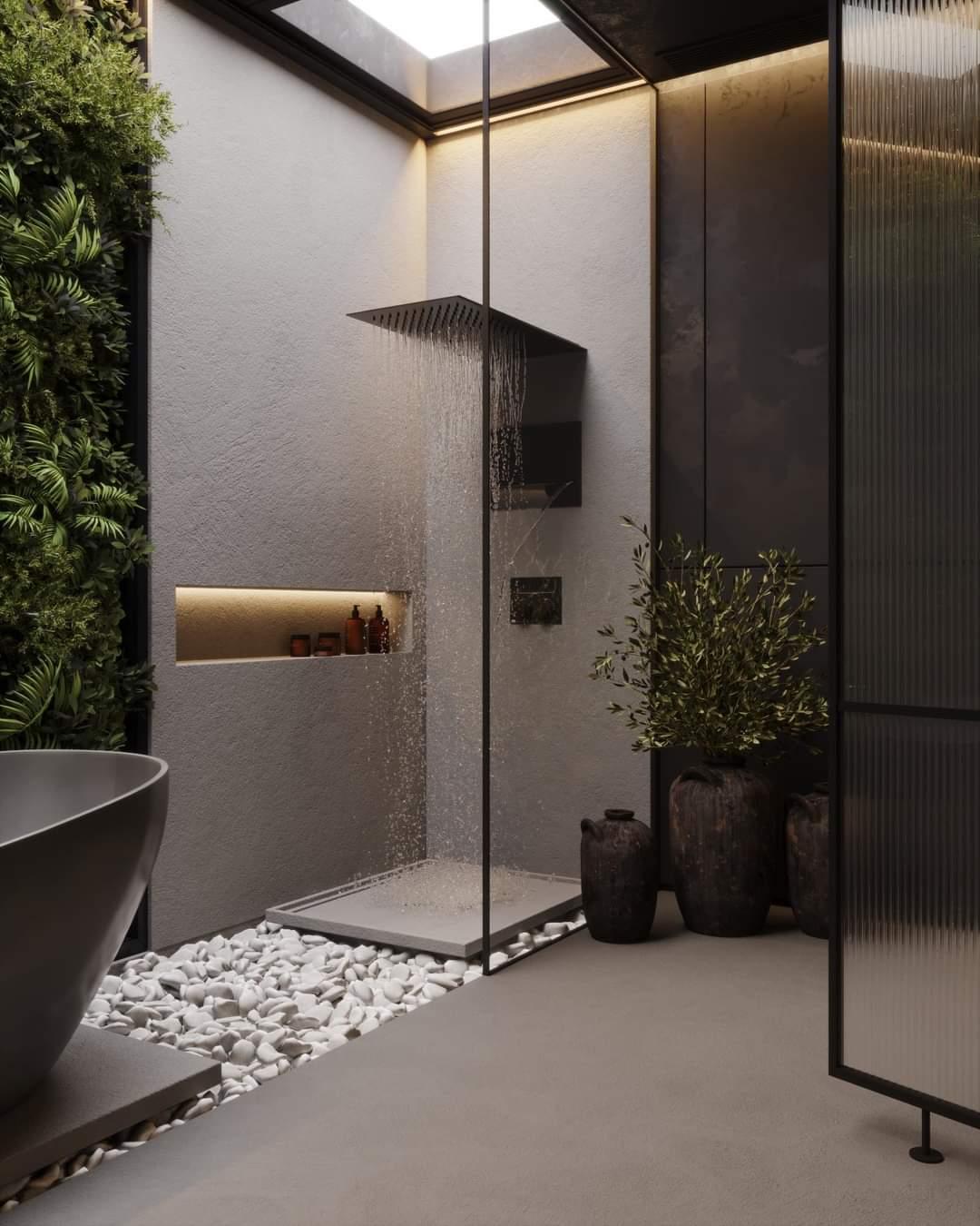 Likable Bathroom Interior Set Up - Source: Kireevaaanna