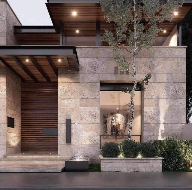 Enticing House Exterior Set Up
